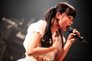 Rei Kuromiya singing in Brats, 2015