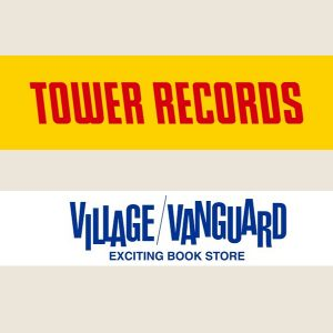 Tower Records and Village Vanguard logos