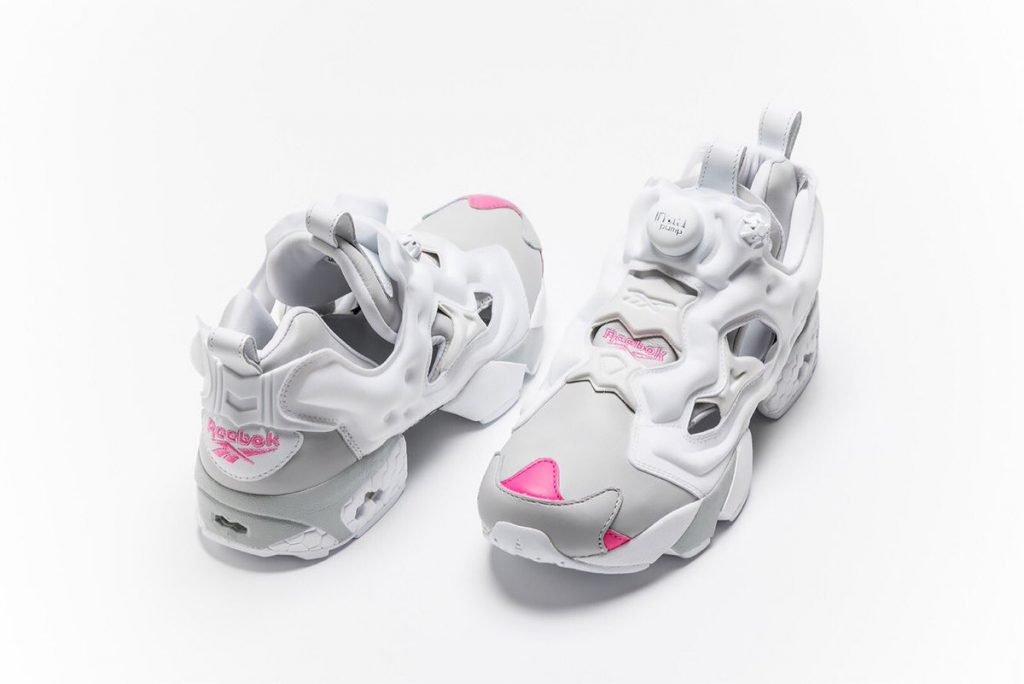 Reebok Instapump Fury shoes designed by Rei Kuromiya